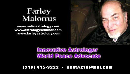 Farley Malorrus, Astrological Metaphysical Psychologist